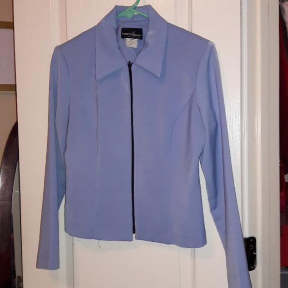 Positive Attitude Jackets & Blazers - Light Blue Buisness Jacket